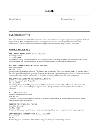 Resume For A Marketing Job by Resume Market Research Best Free Resume Collection