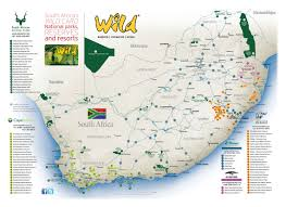 Swaziland Map All Parks Wild Card