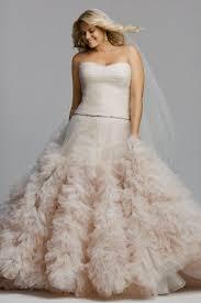 plus size blush wedding dresses blush plus size tea length wedding dresses naf dresses