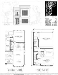 town house floor plan townhouse plan e2136 c1 1 house plans pinterest townhouse
