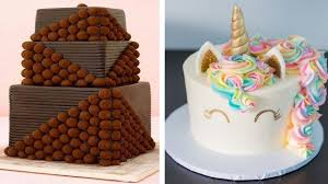 cake decorations 20 amazing chocolate cake decorating in the world satisfying