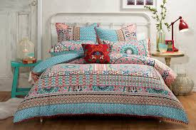 Quilt Comforter Set Bedroom Awesome Bohemian Duvet Covers For Excellent Decorative