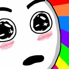 Surprised Meme Face - surprised rainbow face memes imgflip