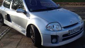 renault clio 2002 modified 2002 renault clio 3 0 v6 230 for sale rhd youtube