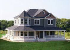 house wrap around porch plan 16804wg country farmhouse with wrap around porch farm