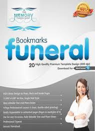 memorial bookmarks premium designs of funeral and memorial bookmarks visual ly