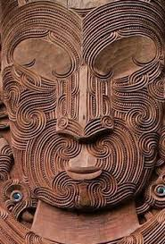 polynesian wood carving maori wood carving rotorua new zealand by