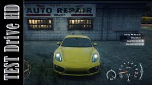 porsche cayman s need for speed rivals test drive hd youtube