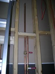 Rough Plumbing How To Finish A Basement Bathroom Water Supply Plumbing