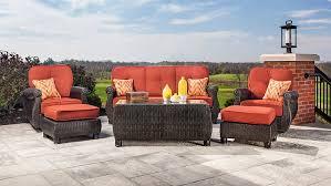 Meridian Patio Furniture by Amazon Com La Z Boy Outdoor Breckenridge Resin Wicker Patio