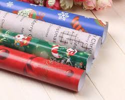 Wholesale Christmas Gift Wrap - wholesale 10pcs christmas wrapping paper christmas gift paper