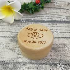 personalized jewelry gift boxes personalized wedding ring box custom wood engagement ring
