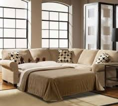 Sectional With Sofa Bed Small Sectional Sofa Sleeper Foter