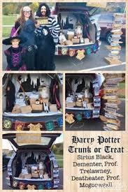 Trunks Halloween Costume Harry Potter Themed U201ctrunk Treat U201d Ideas Halloween Costumes