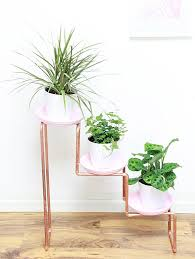 ikea planter hack stand style with a modern twist