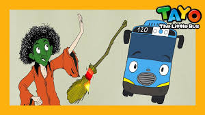tayo cizgi film video a bus meets a green witch ep3 l tayo the little bus l story for kids