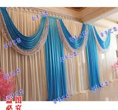 wedding backdrop blue wedding backdrop for sale 3m6m royal blue swags hot sale white