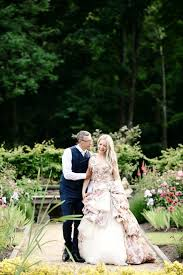 scottish wedding dresses glamorous scottish wedding with a floral dress and a stag rock