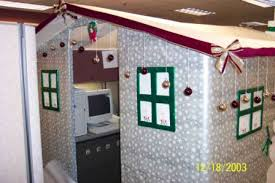 cubicle holiday decorating contest wedding announcer forums