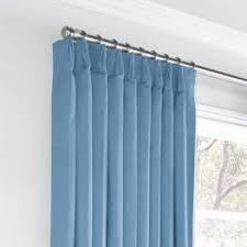 Bright Blue Curtains Bright Blue Linen Fabric Classic Linen True Blue Loom Decor