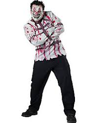 killer clown costume clown costumes for adults spirithalloween