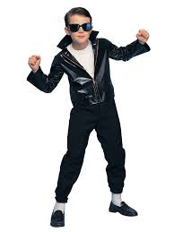 greaser child costume boys 50s halloween costumes