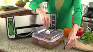 how to use the foodsaver quick marinator foodsaver youtube