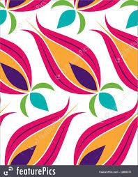 Pattern Ottoman Ottoman Tulip Seamless Pattern