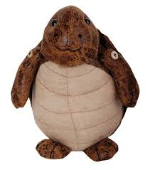 turtle faux leather suede fabric door stopper heavy animal