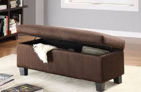 100 storage bench with tray top uncategorized leather storage