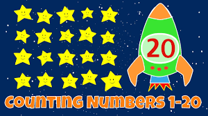 counting numbers numbers 1 20 lesson for children youtube