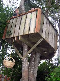 How To Build A Shed Base Out Of Wood by How To Build A Treehouse 16 Steps With Pictures