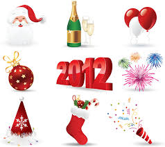 new year items new year design elements vector part 2 vector graphics