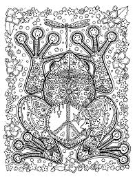 animals big frog animals coloring pages for adults justcolor