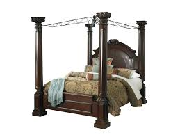 American Signature Bedroom Furniture by Barcelona Canopy Bed American Signature Furniture