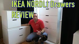 ikea nordli drawers review youtube