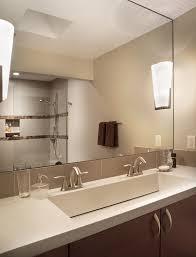 Modern Bathroom Mirrors Enchanting Round Bathroom Mirror With - Bathroom sink mirror