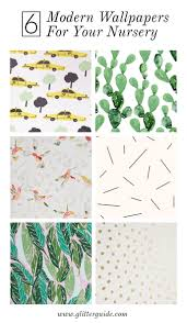 cutest wallpaper patterns for your nursery glitter guide