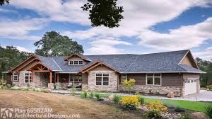 h style ranch house plans youtube