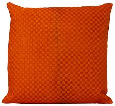 engraved pillows fandindo south american hair on cowhide engraved pillow orange