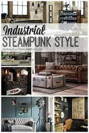Steam Punk Interior Design Steampunk Interior Design Style And Decorating Ideas Steampunk