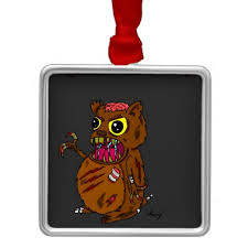 hamster ornament zombies hamsters and ornaments