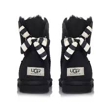 ugg s madelynn boots black uggs black boots with bows ugg madelynn boot meguideu