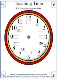 teaching time five minutes
