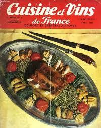 curnonsky cuisine et vins de culinary marelibri