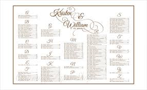 Free Wedding Seating Chart Template Excel 28 Wedding Seating Chart Template Word Wedding Seating Chart