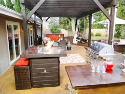 ideas for outdoor kitchen outdoor living spaces ideas for