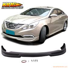 2011 hyundai sonata front bumper fit for 2011 2014 hyundai sonata front bumper lip spoiler kit