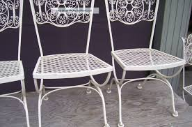 Furniture For Patio Chair Wrought Iron Patio Chair Beguile Wrought Iron Outdoor