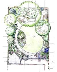 Backyard Layout Ideas Backyard Landscape Design Ideas Images Beautiful Hand Drawn Garden